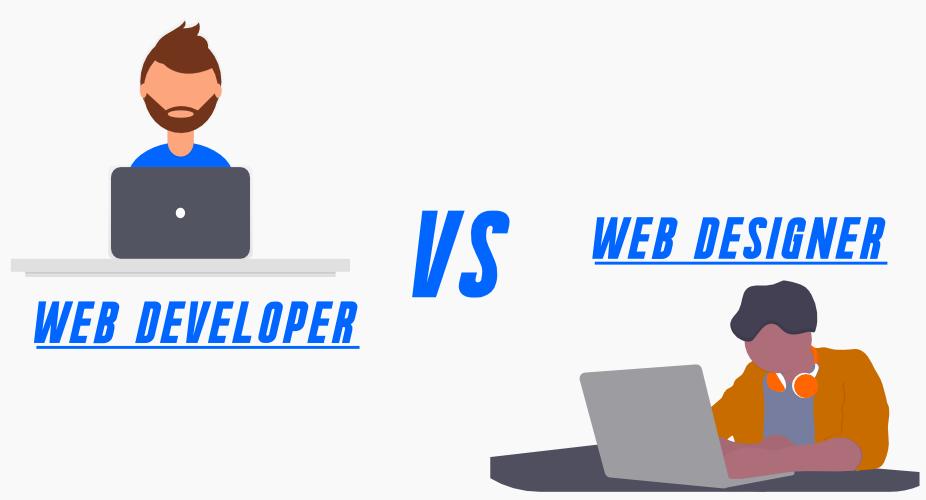 Web design vs web development.